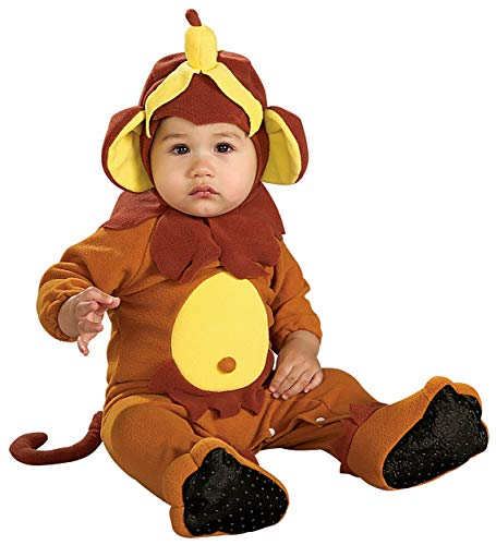 Rubie's Monkey See, Monkey Do Baby Infant Costume - Infant Brown -