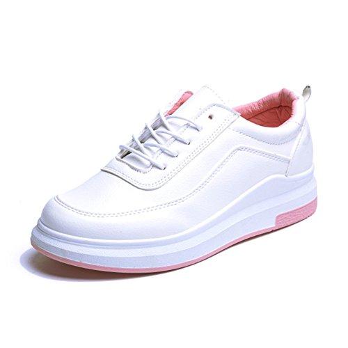 Zunahme Von Kleinen Weißen Schuhen In Womens Shoes,Gurt  Plateauschuhen,Hundert Studenten Koreanische Version