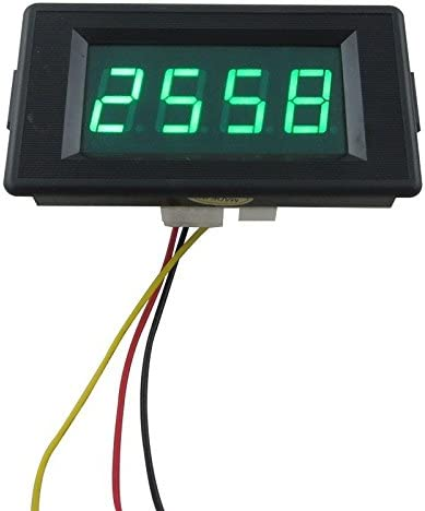 DIGITEN DC 24//12V 4 Digital Green LED Counter Panel Meter Plus Up and Minus Down 0-9999