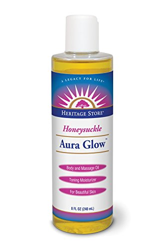 Aura Glow Oil - Heritage Store Heritage Store Aura Glow Oil, Honeysuckle, 8 Fluid Ounce