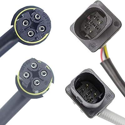 higherbro 4x Air Fuel Ratio Oxygen O2 sensor for BMW 335xi 2007-2008 3.0L BMW 335is 2011-2013 3.0L Upper Lower Upstream + Downstream: Automotive