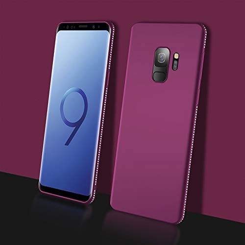 Maxlight Bling Diamond Case for Samsung Galaxy S9 S8 Plus Note 8 Note 9 Glitter Phone Cases TPU Silicon Soft Back Cover (Purple, for Samsung S9 Plus) (Samsung Galaxy S2 Plus Back Cover)
