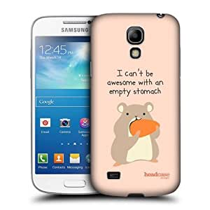 Head Case Designs Awesome Hamster Little Doses of Nonsense and Randomness Protective Snap-on Hard Back Case Cover for Samsung Galaxy S4 mini I9190 Duos I9192 by ruishername