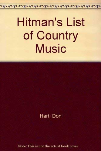 Buy Hitman S List Of Country Music Book Online At Low Prices In India Hitman S List Of Country Music Reviews Ratings Amazon In