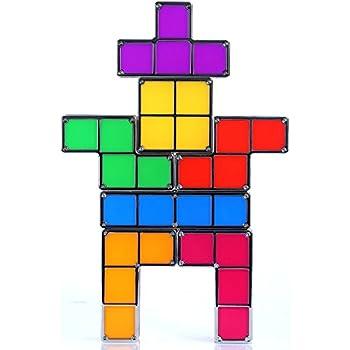 Supershop Tetris Light Constructible Desk Lamp Light Three