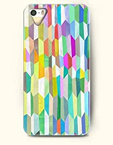 OOFIT Phone Skin Apple iPhone case for iPhone 5 5s ( 5C EXCLUDED ) -- Colorful Geometric Pattern