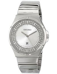 Seiko Women's Core SXDF71 Silver Stainless-Steel Quartz Watch