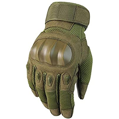 Cycling Touch Screen Gloves Outdoor Motorcycle Climbing Fight Windproof Wristband Winter Fitness Gloves Green Estimated Price £39.33 -