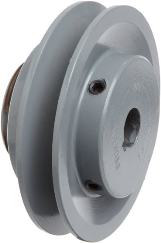"""TB Woods 1VP40 5/8"""" Bore Adjustable Pitch Sheave With 1 Groove"""