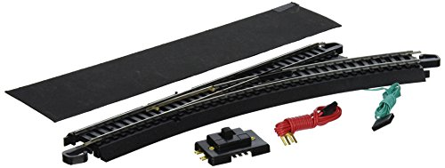 Bachmann Trains Snap-Fit E-Z Track Remote Turnout - Right - Snap Fit