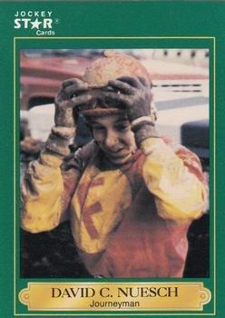 Amazon com: David C  Nuesch trading card (Horse Racing) 1991 Jockey