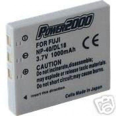 バッテリー1000 mAh for Sanyo NP - 40 np40 uf553436 , Sanyo vpc-e870   B01DNAAIWS