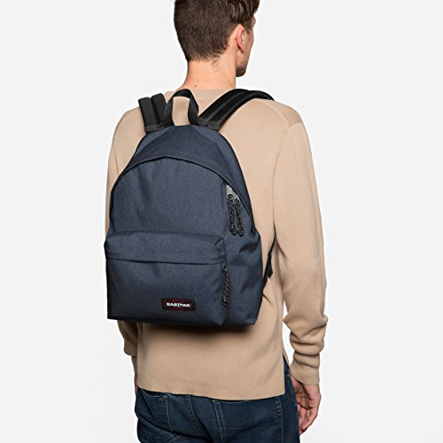 L Pak'R Sunday Double Grey Backpack Grey cm Denim 24 Padded Eastpak 40 q48wxY58O
