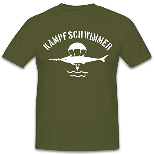 Lucha Flotador de ventanilla de Camisa Marino Buceo Compañía eker förde Bundeswehr Arma Buceo Bademeister Rana Muñeco - Camiseta # 11182: Amazon.es: Ropa y ...