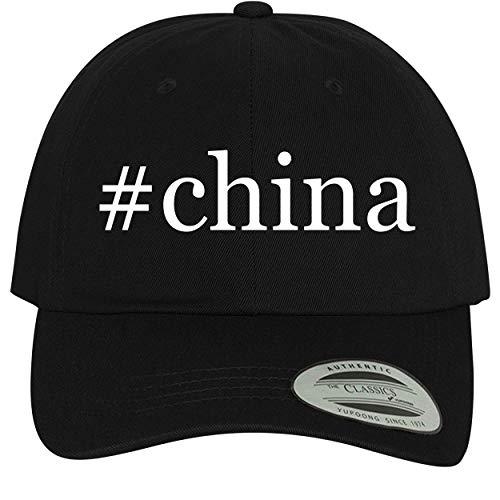 BH Cool Designs #China - Comfortable Dad Hat Baseball Cap, Black