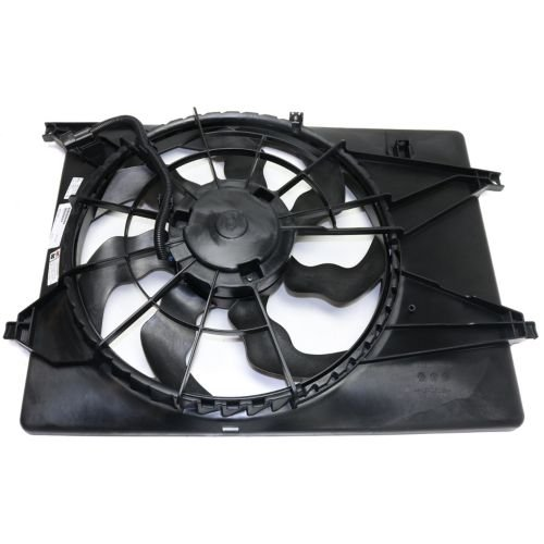 MAPM Premium SORENTO 16-17 RADIATOR FAN ASSEMBLY, Single Fan, 2.4L Eng.