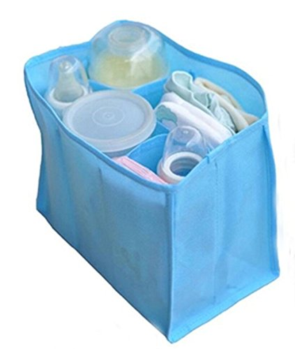 Set Of 2 Baby Products Multifunctional Package Mom Necessary Bag Random Color by Panda Superstore