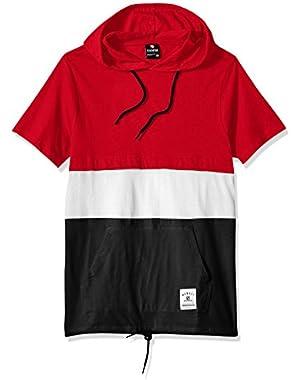 Men's Short Sleeve Hooded Fashion Tee