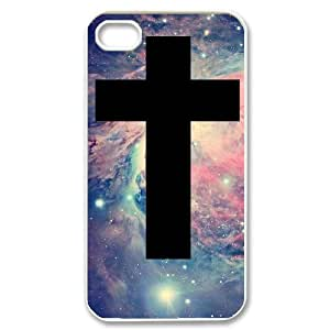 AKERCY America Flag And Cross Phone Case For Iphone 4/4s [Pattern-5]