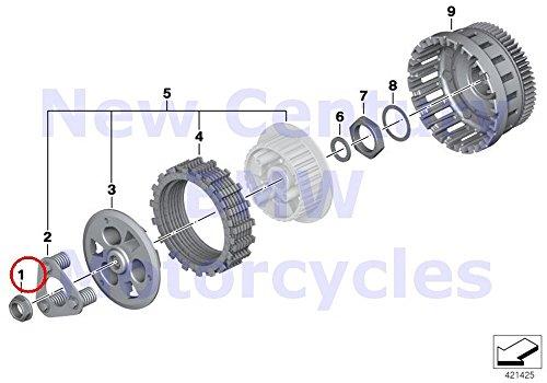 BMW Genuine Motorcycle Clutch - Single Parts Nut M20X1.5 R1200GS R1200GS Adventure R1200RT R1200R by BMW