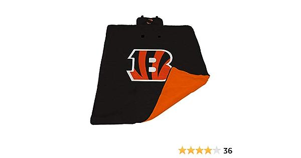 Logo Brands Officially Licensed NFL Unisex All Weather Blanket, One Size, Team Color