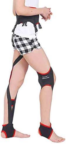 脚矯正ベルトーユニセックスO/X脚補正ベルトは膝が強化されたタイプの日のための内反膝矯正 美脚サポート 矯正用包帯