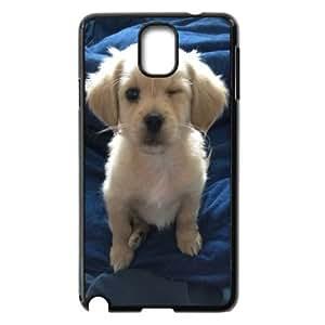 Diy Cute puppy Cover Case, DIY Hard Back Phone Case for Samsung Galaxy Note 3 N9000 Cute puppy