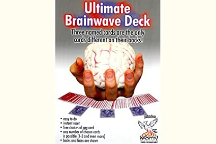 Mazzo Phoenix Ultimate Brainwave (Blu) CARD SHARK