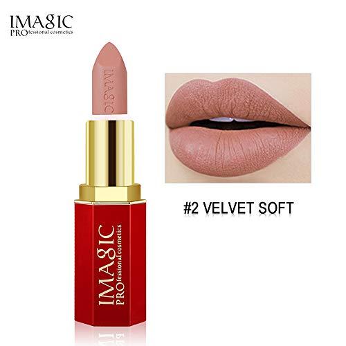 ZoePets Black Liquid Lipstick Moisturizer Velvet Metal Lipstick Cosmetic Beauty Makeup