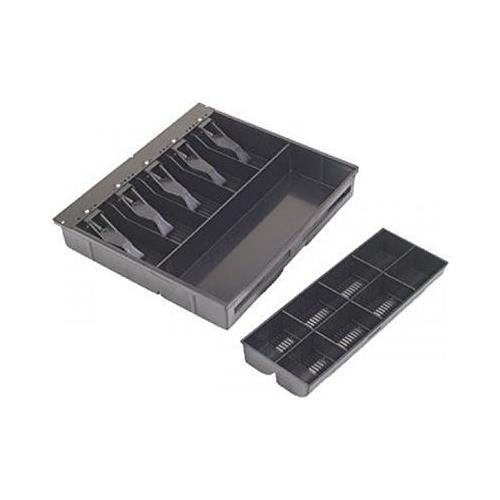 MMF Cash Drawer Tray for VAL-u Line Cash Drawer, Black 225-1504-04