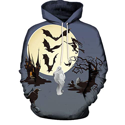 Print Hoodie Multicoloured Men 3XL Souls Sweatshirt Halloween Punk Jacket Hip Hop 3D Unisex Winter Couple All Autumn Sweaters Hooded Pullover Bestow M Women Coat003 Sleeve Long Athletic Day 8nWFYExHq