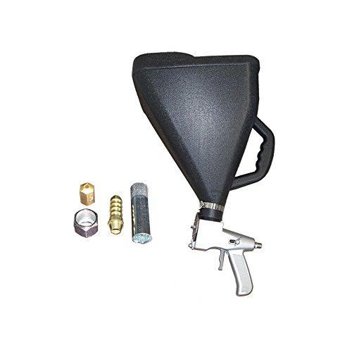 Plastic Air Texture Popcorn Drywall Paint Sprayer Ceiling Hopper Gun 8 Orifice