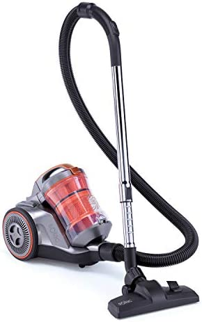 Solac AS3102 Brave - Aspirador sin bolsa con sistema multiciclónico, 800 W, AAA, Filtro HEPA, 3 L, Recogecables automático: Amazon.es: Hogar