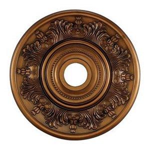 Elk M1004AB Laureldale Ceiling Medallion, 21-Inch, Antique Bronze Finish by ELK
