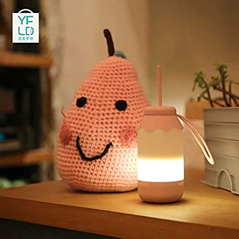 Night Light Creative Cute Bottle USB Charger Child Birthday Gift Camping Light Lighting Decoration Room Street Light
