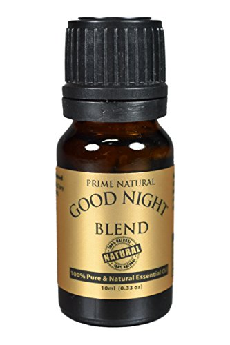 Good Night Essential Oil Blend 10ml - 100% Natural Pure Undiluted Therapeutic Grade for Aromatherapy, Scents & Diffuser - Natural Sleep Aid, Depression Stress Anxiety Relief, Relaxation, Boost Mood