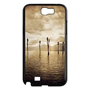 SamSung Galaxy Note2 7100 cell phone cases Black Here comes the sun fashion phone cases YEH0721408