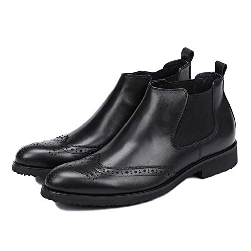 Uomo Chelsea Pelle Business Stivali Classic in da Stivaletti Boots Uomo snfgoij Pelle Black Brogue Scamosciata Oxblood Safety Top qERdRCafwZ