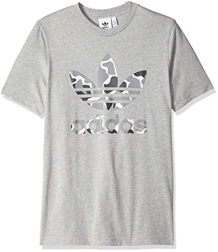 Originals 2xl Heather Men's Grey Medium Camo Tee Trefoil Adidas dHZwxqdR