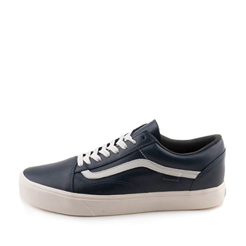 Vans Hombres Old Skool Lite Lx Horween Lapis Blue Leather