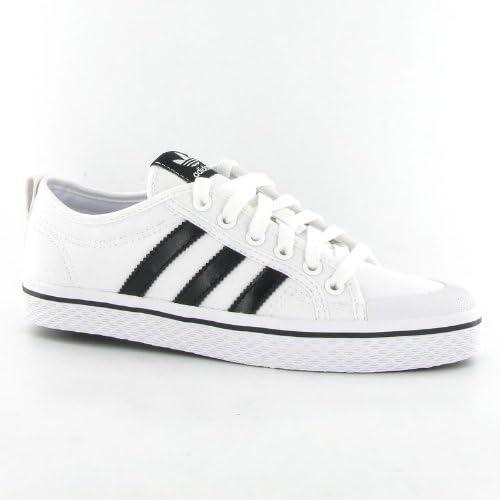letal Y así espiritual  adidas Honey Stripes Low Black White Womens Trainers Size 7: Amazon.co.uk:  Shoes & Bags