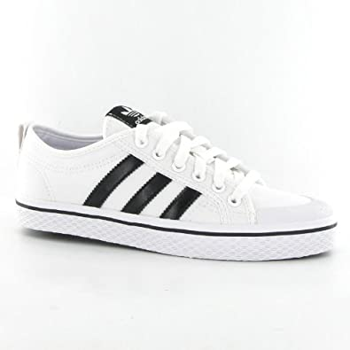 nouveau style af41d 31a14 Adidas Honey Stripes Low Black White Womens Trainers Size 7 ...