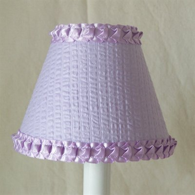 Silly Bear Lighting Simply Lavender Chandelier Shade, Lavend