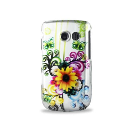 Reiko 2DPC-SAMR360-134 Premium Durably Protector Case for Samsung Freeform 2 R360 - 1 Pack - Retail Packaging - White/Multi