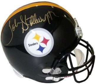 50460f2244e John Stallworth Autographed Mini Helmet - Replica Hologram - Upper Deck  Certified - Autographed NFL Mini