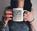 4th Birthday Gift 4 Four Years Old All Measures of Being Awesome Anniversary Mug For Young Kids Son...