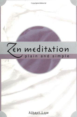 Download Zen Meditation Plain and Simple pdf epub