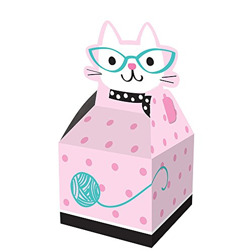 Creative Converting 329405 Purr-FECT 48-Count Party Favor Treat -