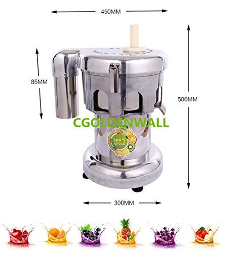 100-120kg/hr Professional stainless steel Commercial Juice Extractor Vegetable Juicer Electric Juice Machine juice squeezer 110V/220V by CGOLDENWALL (Image #1)