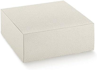 5 Unidades caja Pastelería Cuidado fácil para tartas pasteles Piel Blanca 50 x 50 x 10 cm: Amazon.es: Hogar